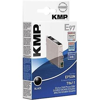 KMP Ink replaced Epson T0611 Compatible Black