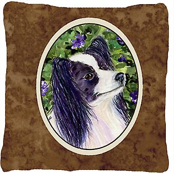 Papillon Decorative   Canvas Fabric Pillow