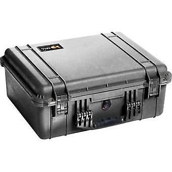PELI Outdoor case 1550 33 l (W x H x D) 525 x 216 x 435 mm Black 1550-000-110E