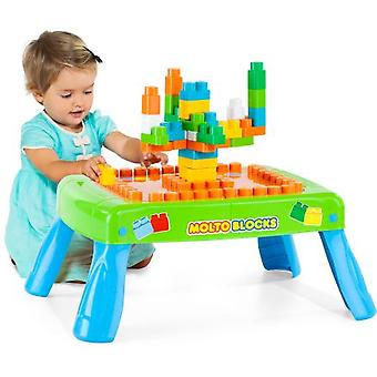 Molto magic block table , 50 pieces (Toys , Preschool , Constructions)