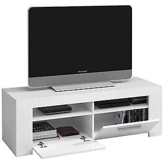 Bricohabitat Ambit White Tv Lounge brightness 120x40x42 cm