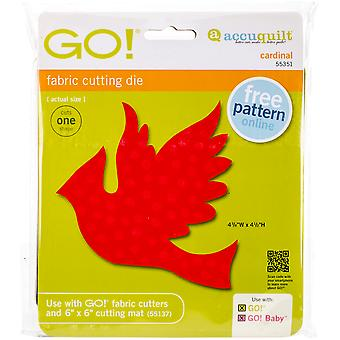 GO! Fabric Cutting Dies-Cardinal 55351