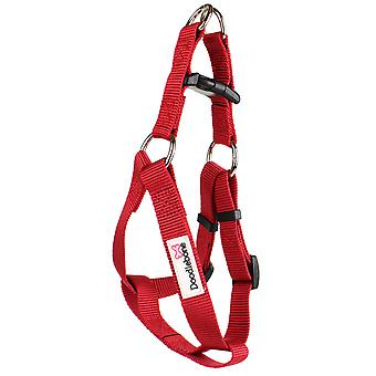 Doodlebone Bold Nylon Harness Red Extra Large 25mm X80-90cm