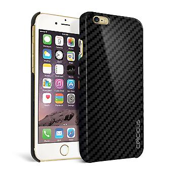 Celicious Matrix Apple iPhone 6 Plus echte Carbon Fibre Back Cover Case