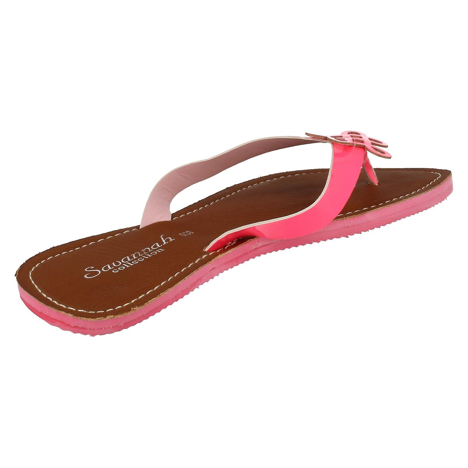 Summer Neon L6729 Ladies Sandals Toe Savannah Post OEnw6xqBZ