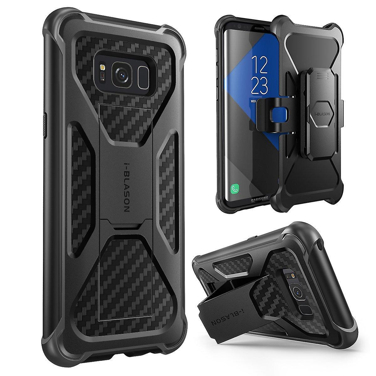 Samsung Galaxy S8 Case, i-Blason, Transformer Case,2017 Release, Dual Layer Case with Holster Case, s8 case, galaxy s8