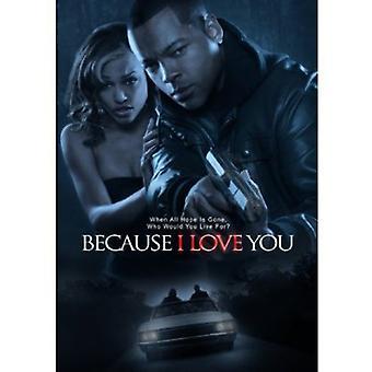 Fordi jeg elsker dig [DVD] USA importerer