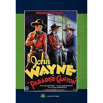 Paradise Canyon [DVD] USA importerer