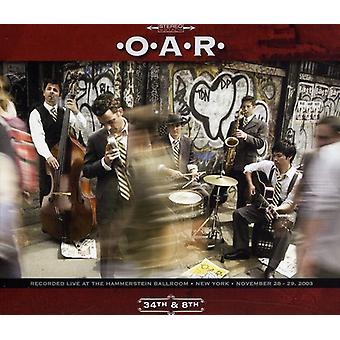 O.a.R. - 34 & 8 [CD] USA importerer