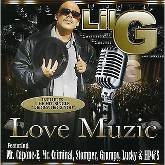 Lil G - kærlighed Muzic [CD] USA import