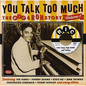 You Talk Too Much: Ric & Ron Story - You Talk Too Much: Ric & Ron Story: Vol. 1-You Talk Too Much:Ric & Ron Story [CD] USA import