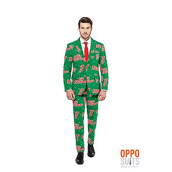 Opposuit happy Holidude Christmas suit slimline Premium 3-piece set
