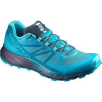 Salomon kvinders løbesko trail forstand ride blue - 398477