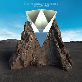 Giraf tungen orkester - brudte linjer [CD] USA importerer
