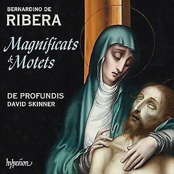 Ribera / De Profundis / Skinner, David - magnificater & motetter [CD] USA import