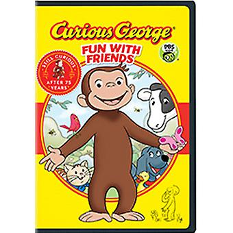 Curious George: Fun with Friends [DVD] USA import