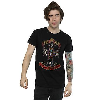 Guns N Roses mænds appetit for Destuction nødstedte T-Shirt