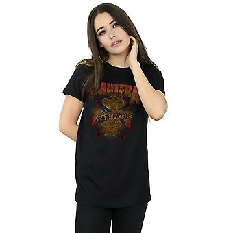 Pantera Women's Death Rattle Boyfriend Fit T-Shirt