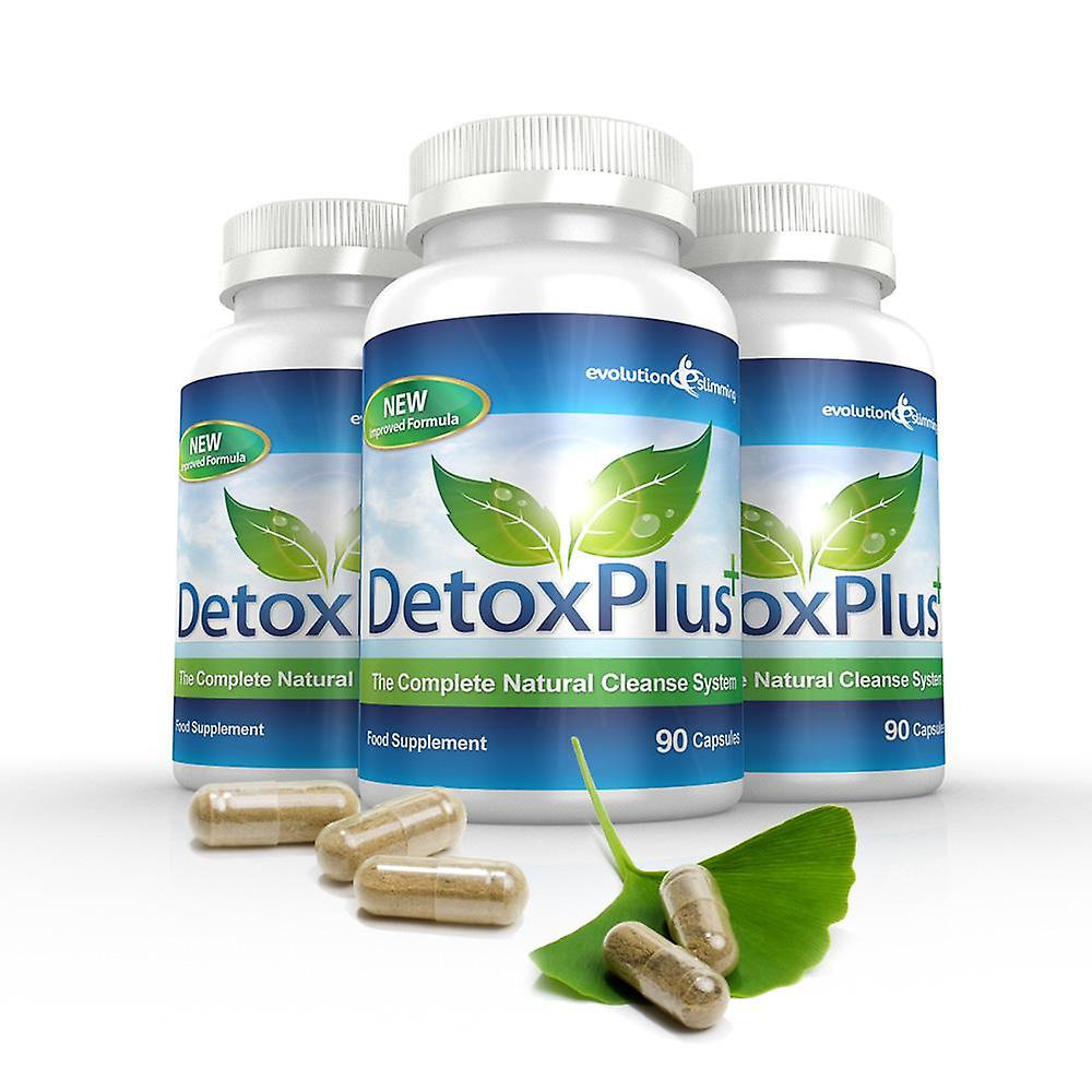 Detox Plus Complete Cleansing System - 3 Month Supply - Colon Cleanser - Evolution Slimming