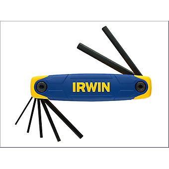 Irwin T10765 Folding Hex Key Set 7Pc 2.0 - 8.0Mm