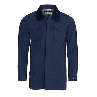 Wrangler jacket mens parka coat the Mac blue