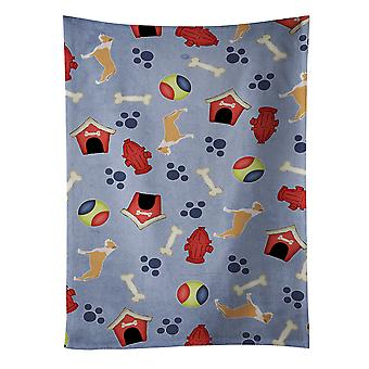 Staffordshire Bull Terrier Dog House Collection Kitchen Towel