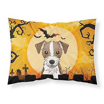 Halloween Jack Russell Terrier Fabric Standard Pillowcase