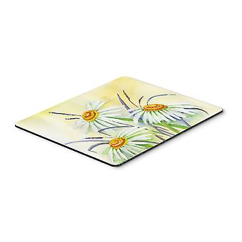 Daisies by Maureen Bonfield Mouse Pad, Hot Pad or Trivet