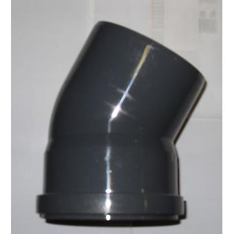 Push-fit Waste Fittings - Bend - 30 Degree - 50mm Diameter