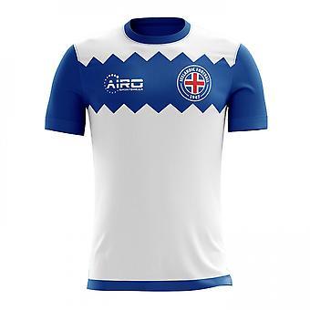 2018-2019 Islandia lejos concepto fútbol camiseta (niños)