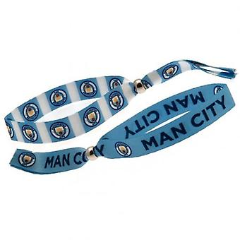 Manchester City Festival Wristbands