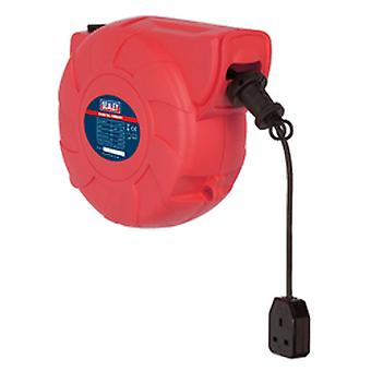 Sealey Crm251 Cable Reel System versenkbare 25Mtr 1 X 230V Steckdose
