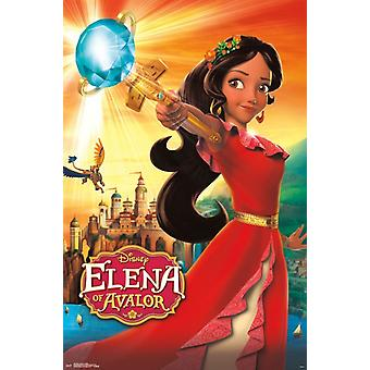 Elena of Avalor - Scepter Poster Print