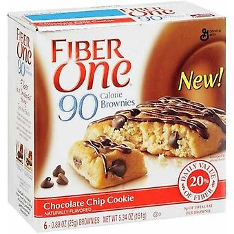 Fibra uno 90 calorías Chocolate Chip Cookies Brownies