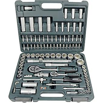 Bit set Metric 1/4 (6.3 mm), 1/2 (12.5 mm) 94-piece Brüder Mannesmann M98410