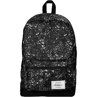 O'Neill Coastline Graphic Backpack - Black / White