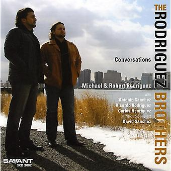 Rodriguez Brothers - Conversations [CD] USA import