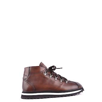 Doucal's MCBI102010O Braun mens leather ankle boots