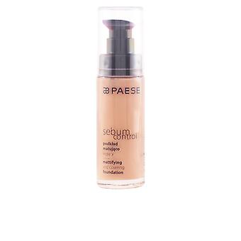 Paese Sebum Control Mattifying And Covering Foundation Womens Make Up New