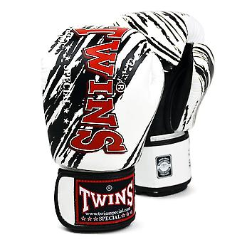 Twins Special White And Black Claw Boxing Gloves