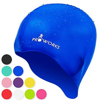 ProWorks Swimming Cap - Blue