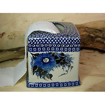 Keramische envelop, papier handdoek dispenser, 2, 16,5 x 16,5 x 15 cm - BSN 21214