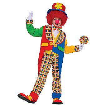 Clown In The Town Circus Funny Dress Up Boys Costume