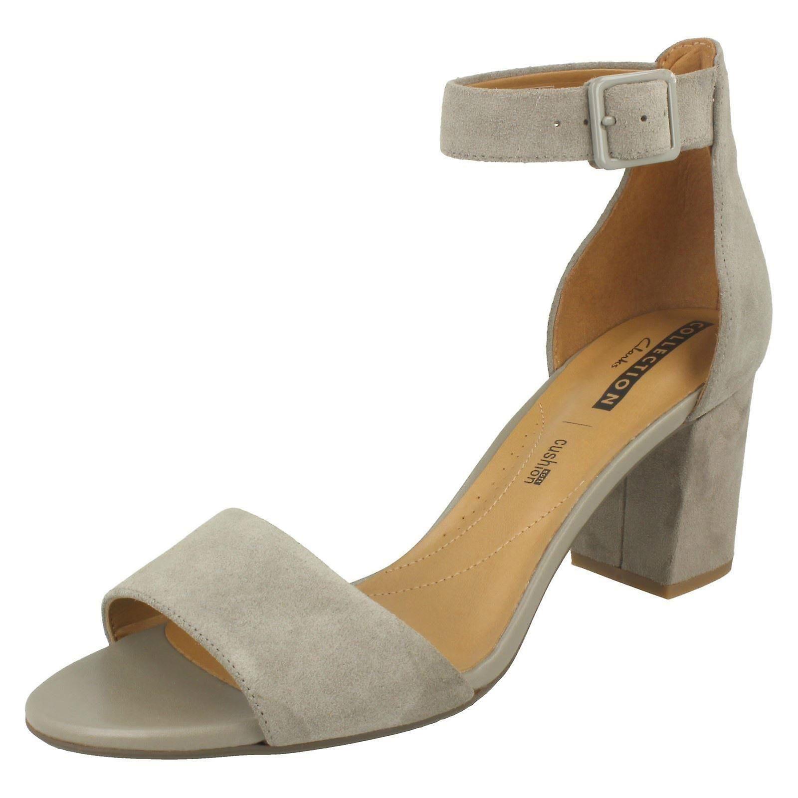 Heeled Suede UK Sage Deva US 9 EU Size Size Size Ladies 5M Sandals Mae 41 Clarks 7D qxX0FY5g