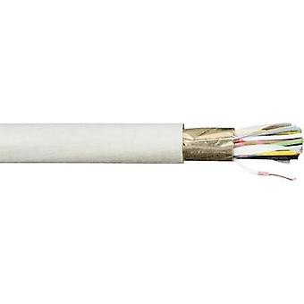 Data cable JE-Y(ST)Y...BD 8 x 2 x 0.80 mm² Grey Faber Ka
