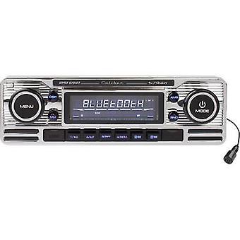 Caliber Audio Technology RMD-120BT Car stereo Retro design, Bluetooth handsfree set