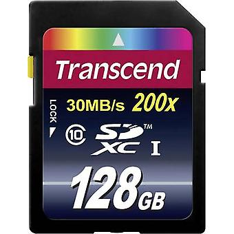 Transzendieren Premium SDXC Karte 128 GB Klasse 10