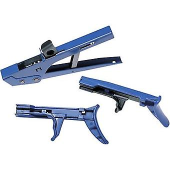 HellermannTyton 110-20006 MK20 BLAU Kabel Krawatte Gun blau