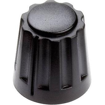 Mentor 4331.6000 Control knob Black (Ø x H) 14.5 mm x 14 mm 1 pc(s)