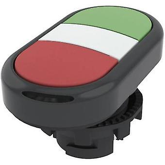 Double head pushbutton Planar Green, Red Pizzato Elettrica E21PDRL10423 1 pc(s)
